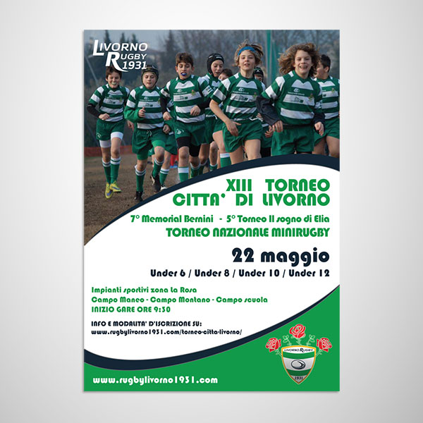 Flyer Rugby Livorno 1931